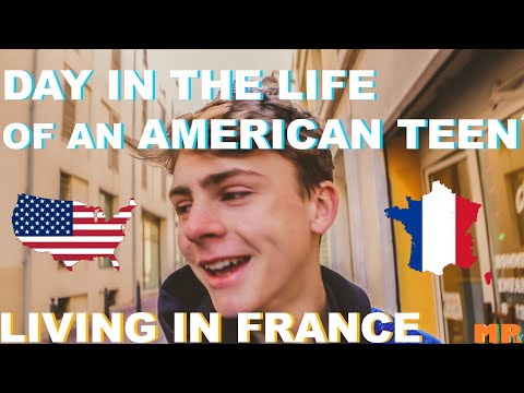 Day In The Life Of An American Teen Living In France