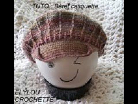 prix modéré bonne vente nouveau authentique TUTO crochet : Béret casquette facile !