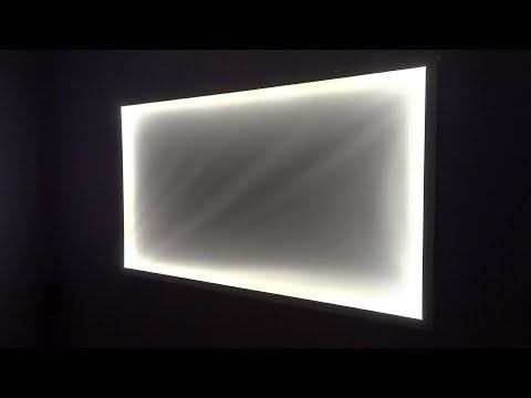 DIY Fake window lightbox - warm and soft light in any dark room!