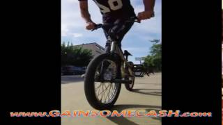Awesome biCycle Diving and Drift riding