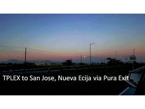 TPLEX to San Jose, Nueva Ecija via Pura Exit