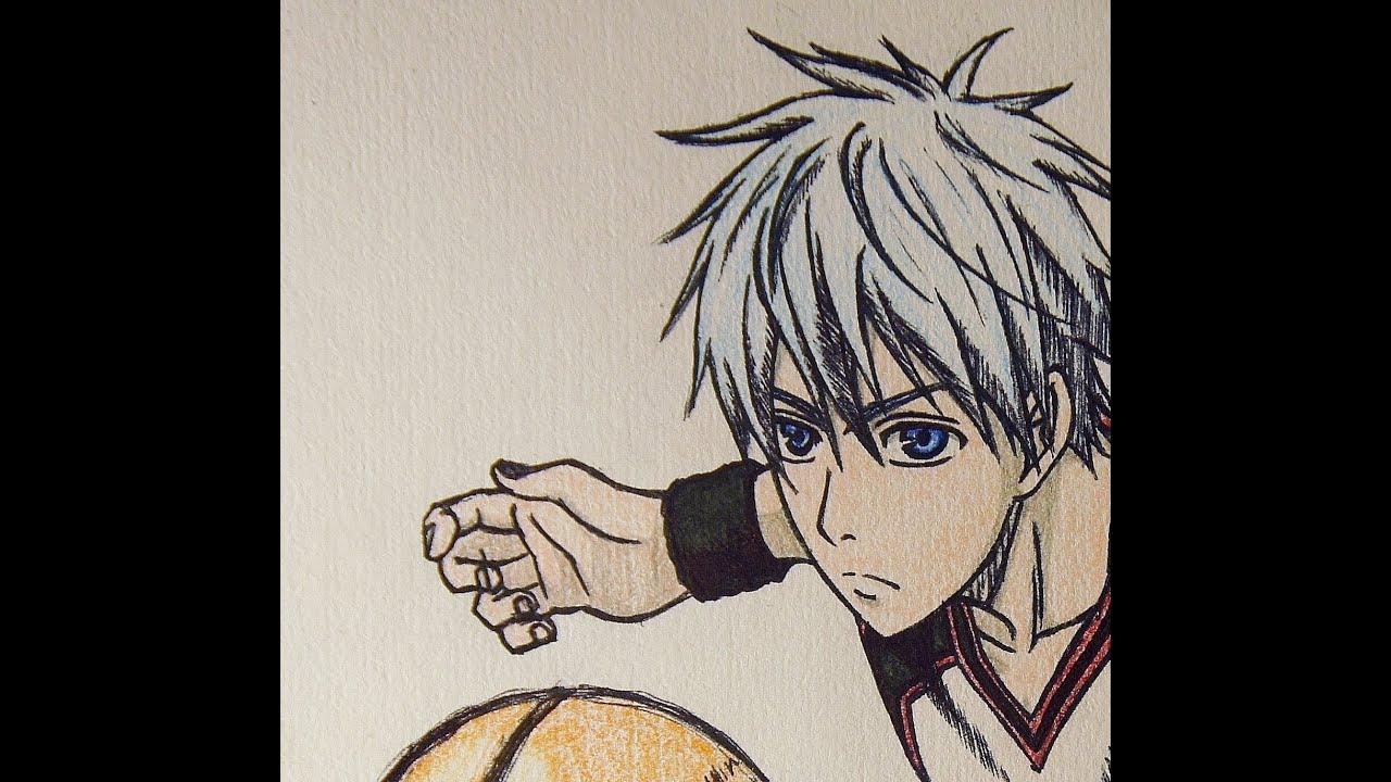 Tetsuya Kuroko Cute Drawing