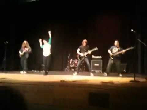 A Shot In The Dark - A Day To Remember Cover (PPCHS talent show 2010)
