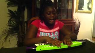 "Destiny Wilkerson performing ""no school today"""
