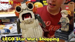LEGO Porg UCS & Han Solo Mud Trooper at Disney Spring Lego Store