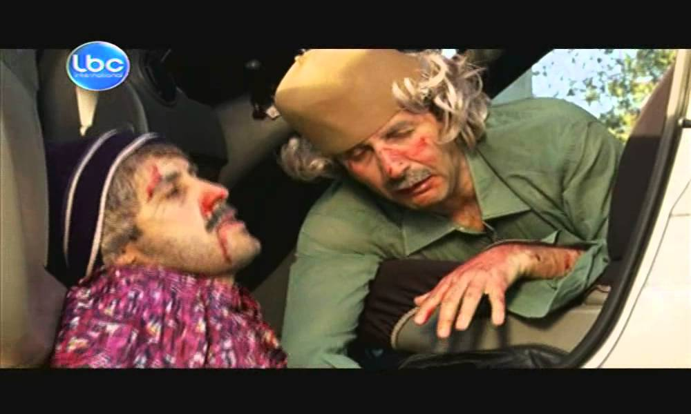 Ktir Salbeh Show - Episode 19 - شوفور سيارة موتى