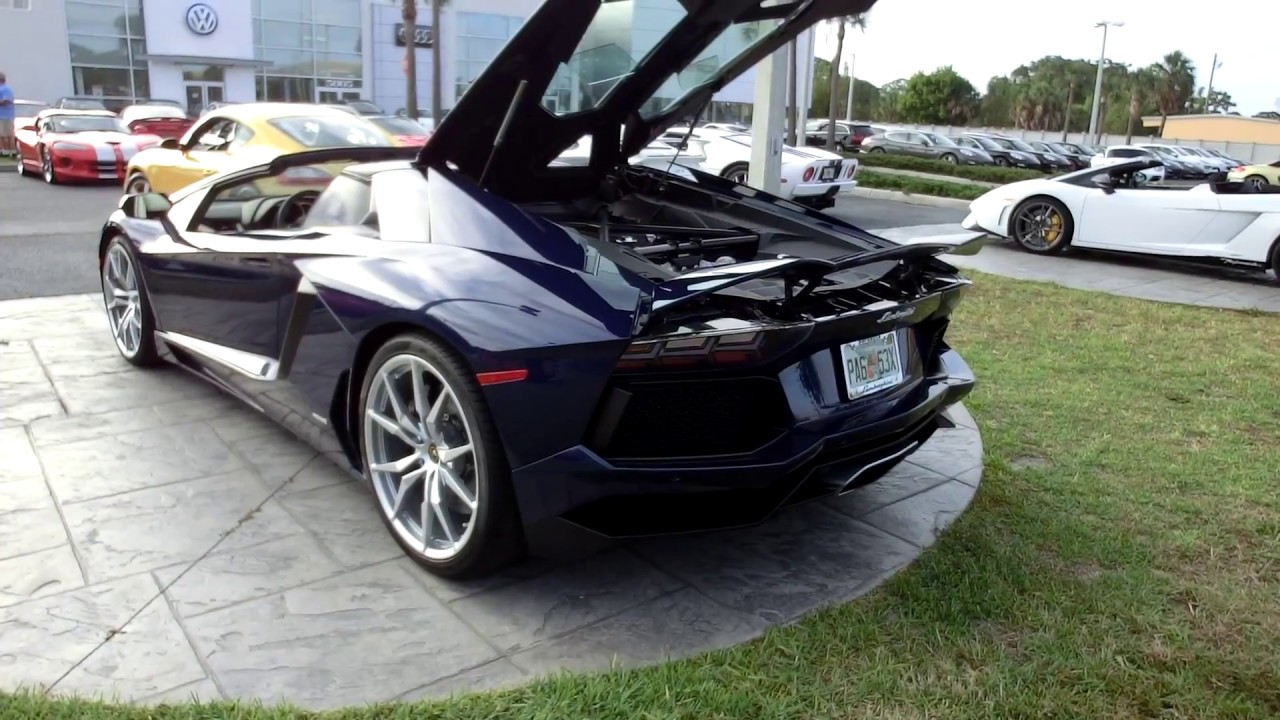 2013 lamborghini aventador roadster 1080p interior exterior youtube. Black Bedroom Furniture Sets. Home Design Ideas