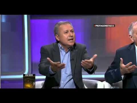 Marcel Claude y Ricardo Israel en Protagonistas de Canal 13 - 13 de octubre de 2013