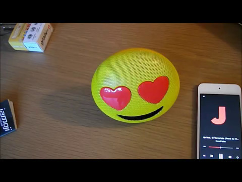 CHEAP TECH FOR KIDS | UNDER £11/$15 | JAMOJI BLUETOOTH SPEAKER & EARMOJI EARPHONES UNBOXING