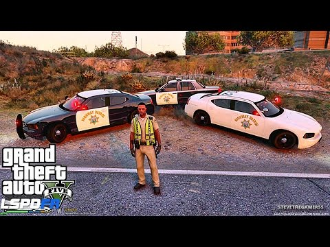 GTA 5 LSPDFR 0.3.1 - EPiSODE 94 - LET'S BE COPS - HIGHWAY PATROL (GTA 5 PC POLICE MODS)