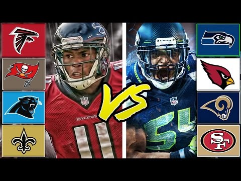 NFC South All-Stars vs NFC West All-Stars (Best Division in The NFL Game 5) Madden Tournament