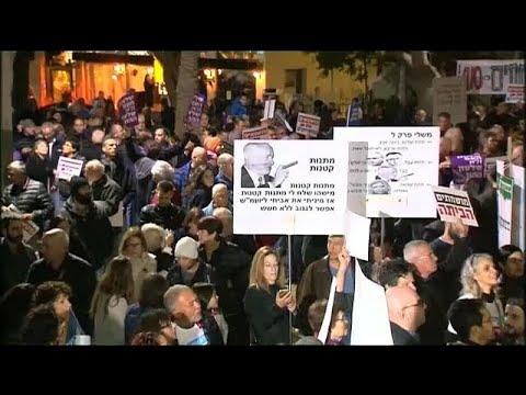 الآلاف يتظاهرون مجددا ضدّ فساد نتانياهو في تل أبيب  - 08:21-2017 / 12 / 10
