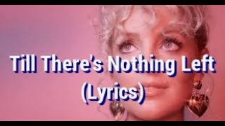 Cam - Till There's Nothing Left - Lyrics - On Screen