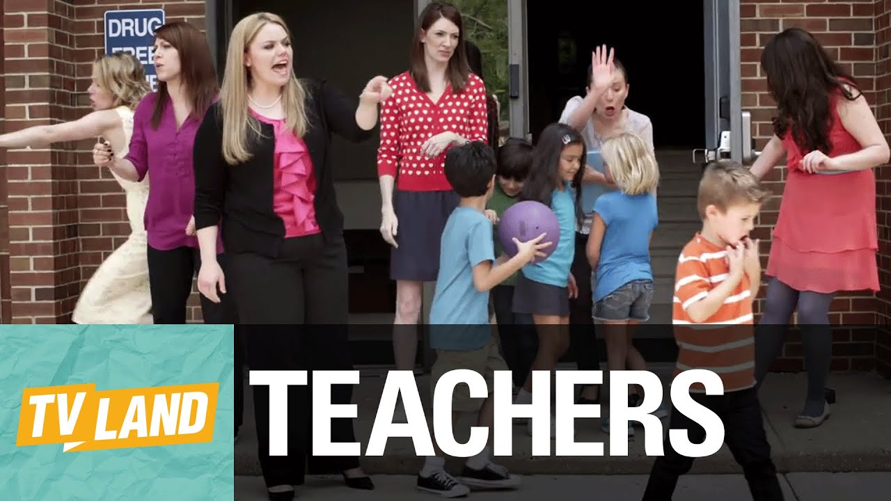 Teachers intro web series executive produced by alison for Tv land tv shows