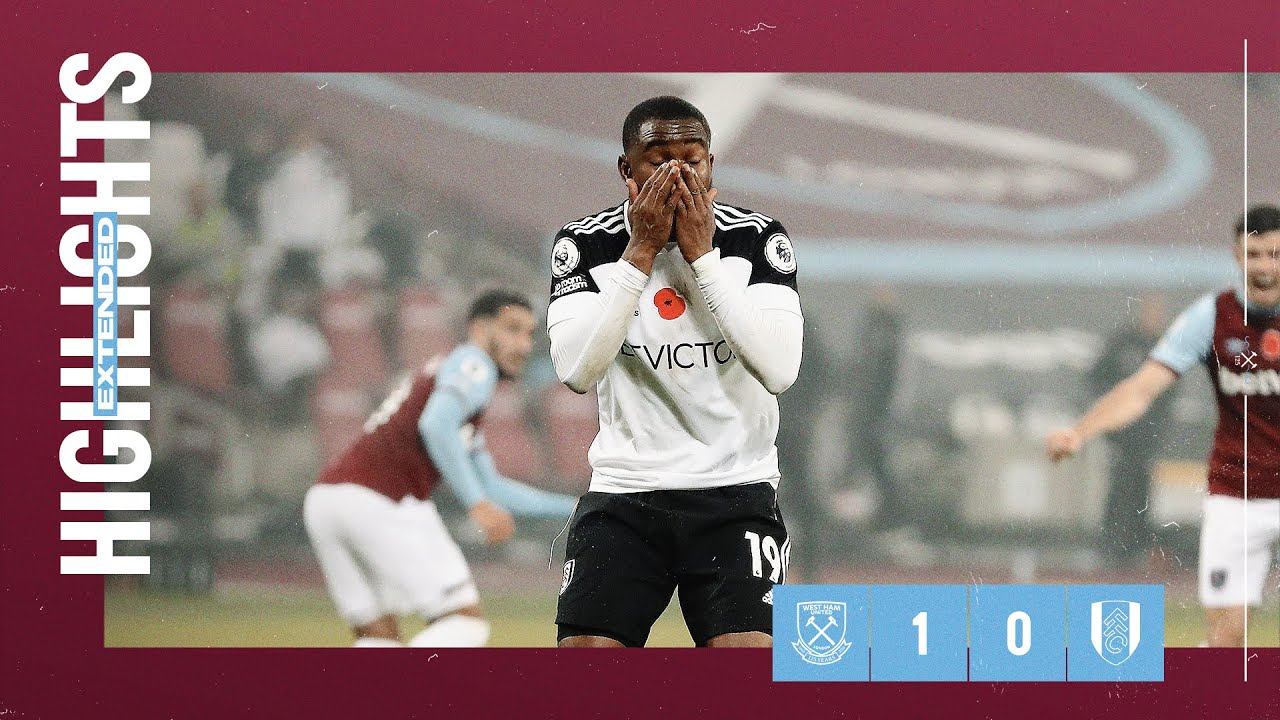EXTENDED HIGHLIGHTS | WEST HAM UNITED 1-0 FULHAM
