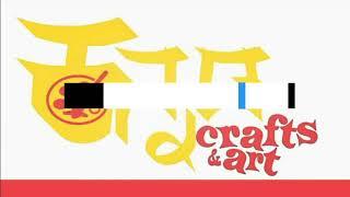 Kannada craft&art craft 03  satin tape flower hairclip