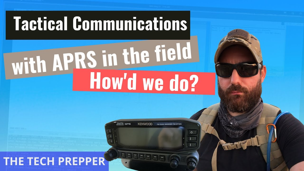 Download Tactical Communications with APRS in the field - How'd we do?