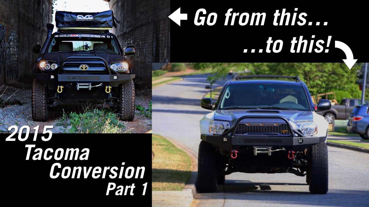 4th Gen 4runner Tacoma Front End Swap - Prerunner - Overland - 4x4