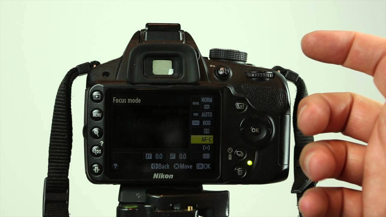 how to select autofocus mode on the nikon d3200 youtube rh youtube com nikon d3200 manual focus lens nikon d3200 manual focus video