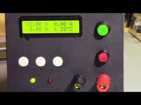 Лабораторный блок питания на ардуино. Версия с внешним ЦАП.