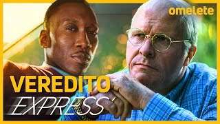 VICE, INFILTRADO NA KLAN, GREEN BOOK E A FAVORITA - VEREDITO EXPRESS