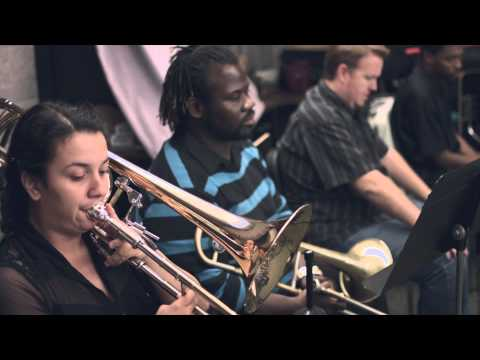 "Mica Bethea Big Band: ""Tenderly"" @ UNF studio"