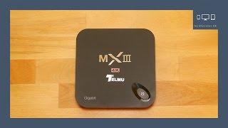 Unboxing Telmu MXIII-G 4K Android TV Box | TechReviews DE