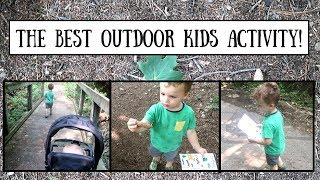OUTDOOR KIDS ACTIVITY! THE MOST FUN GAME FOR OUTSIDE!