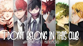Download lagu ❖ Nightcore ❖ ⟿ I don't belong in this club [Switching Vocals]