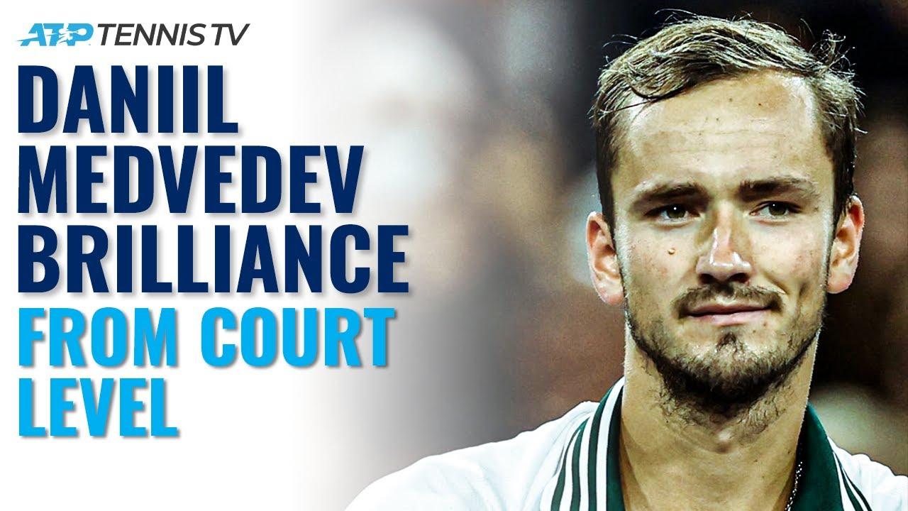 Daniil Medvedev Court-Level BRILLIANCE vs McDonald | Indian Wells 2021 Highlights