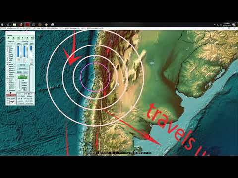 11/15/2018 -- Large M6.9 (M6.4) Earthquake strikes near Antarctica South Pole -- Unrest spreads