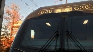 Amtrak HD 60 FPS: Riding Behind ACS-64 628 on Pennsylvanian Train 42 (Philadelphia - New York)