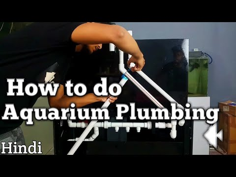 How To Do Aquarium Plumbing(Hindi)