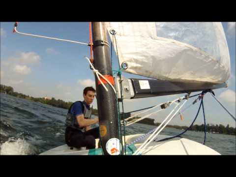 Europe Class sailing (low wind conditions)