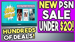 NEW PSN Store Sale Live RIGHT NOW - HUNDREDS of PS4 Game Deals!