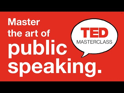 Master the art of public speaking with TED Masterclass