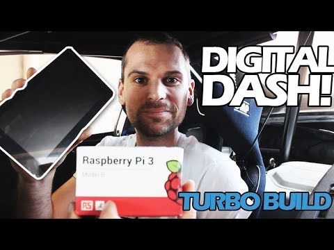Installing My Digital Dash DIY RaspberryPi - Episode 44 - Time Attack Miata TURBO Build