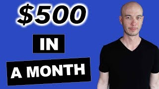 Five Figure Niche Site Student Hits $500 month - Marty