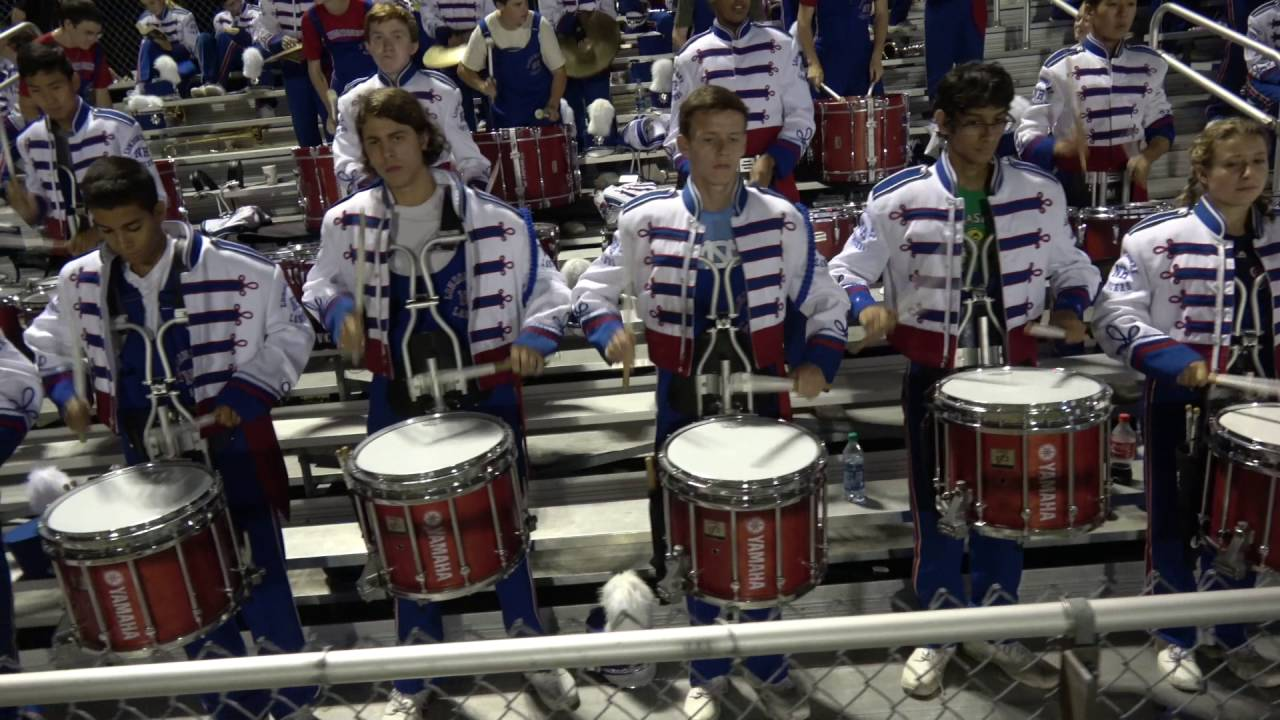 09 09 16 Pep Band Songs At Home Football Game Youtube