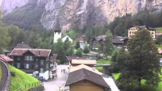 The Swiss Alps a Childhood Wonderland