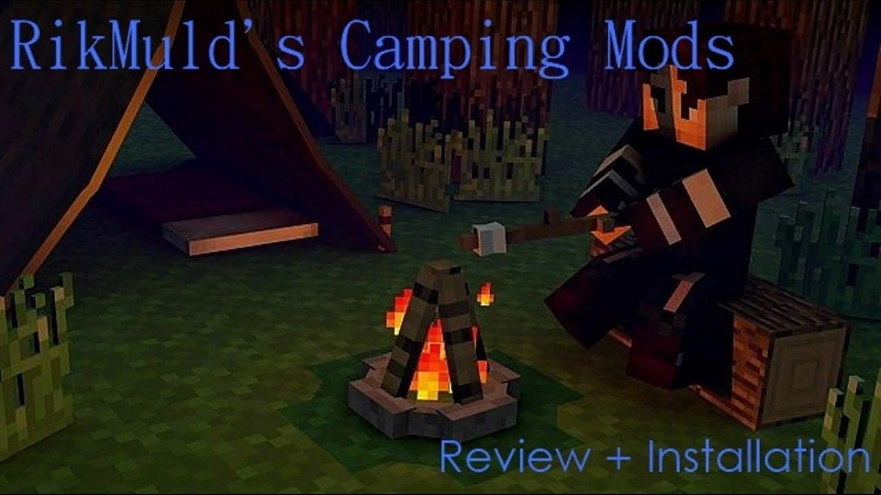 майнкрафт 1 8 9 the camping #4