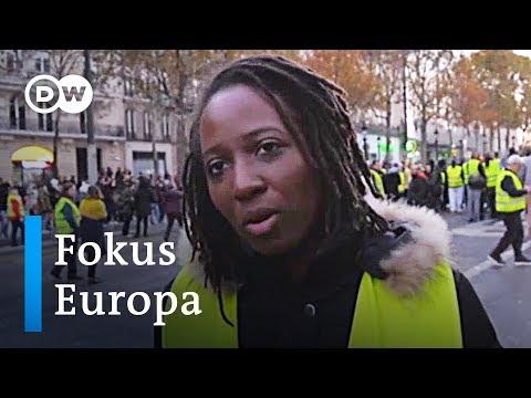 Gelbwesten in Frankreich: Zorn auf Präsident Macron | Fokus Europa
