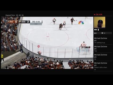 GAME 38 PHILADELPHIA FLYERS AT ANAHEIM DUCKS NHL SEASON ONE 2017
