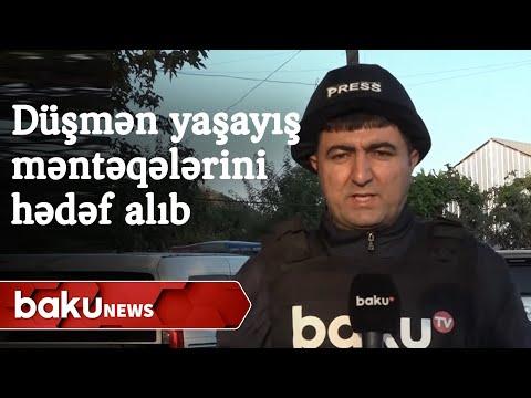 Düşmən yaşayış məntəqələrini hədəf alıb - Baku TV