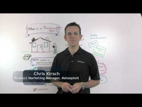What's a pen test?   Rapid7 Whiteboard Wednesday