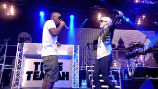 [HD] Tinie Tempah feat. Ellie Goulding - Wonderman - Live at BBC Radio 1