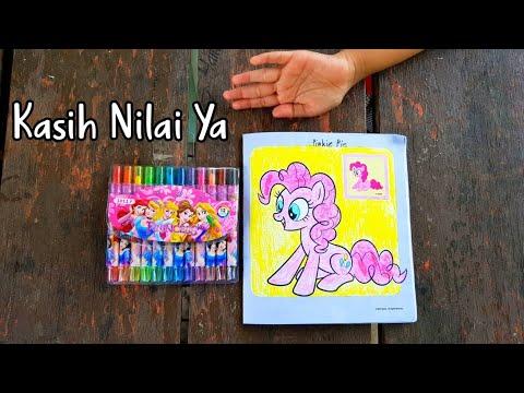 Mewarnai Pinkie Pie My Little Pony Coloring Book My Little Pony