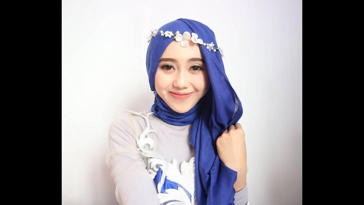 Tutorial Hijab Wisuda Kondangan Youtube Aksesoris