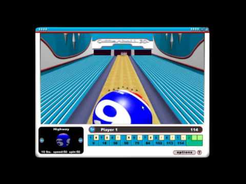 Gutterball By Skunk Studios (Bowling Game For PC, 2002?)