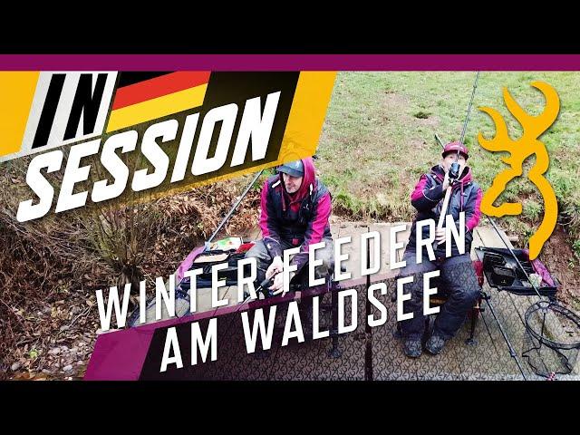 WINTERFEEDERN: SO GEHT'S - Das BREAM TEAM am WALDSEE